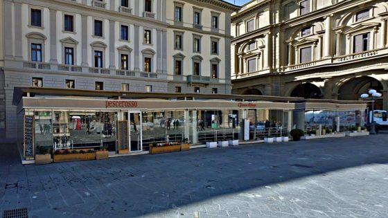 Regione Toscana, si mangia solo dove ci sono tavoli all'aperto
