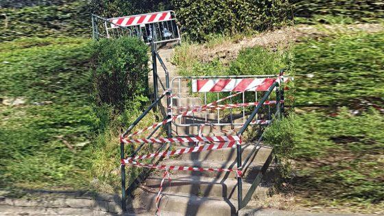200 transenne per impedire accesso ai giardini pubblici