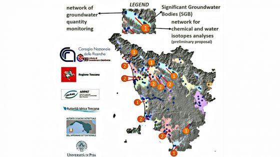 Falde acquifere più alte in Toscana per effetto del lockdown