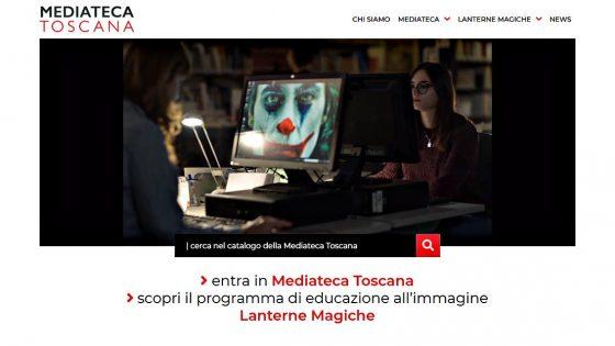 Nuovo sito di cultura cinematografica per Mediateca Toscana