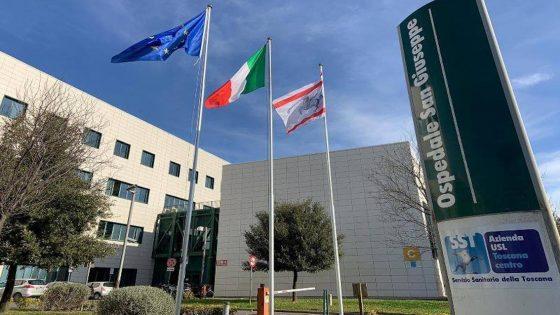 Chiudono reparti Covid-19 all'ospedale di Empoli