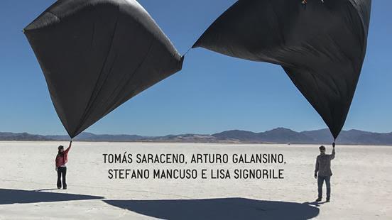 Tomàs Saraceno in conversazione su arte e natura, domani.