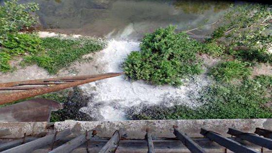 Sversamento olio combustibile nel fiume Bisenzio