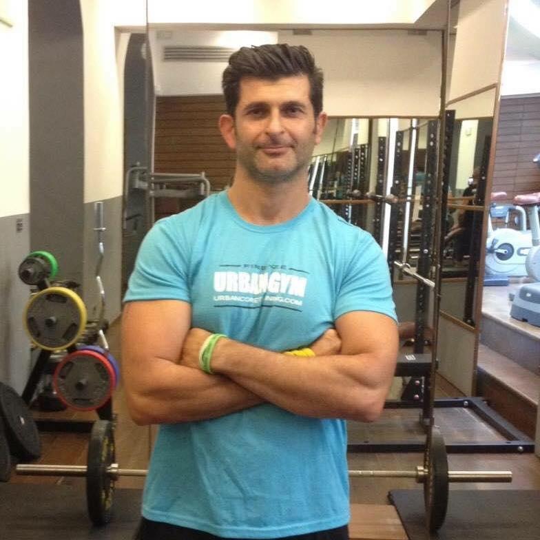 Gabriele Serroni, titolare di Urban Gym