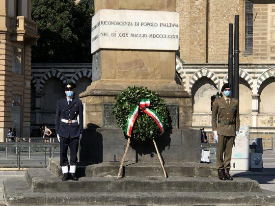 """Firenze, Festa della Repubblica: """"Guardare avanti con senso di responsabilità e fiducia nel futuro"""""""