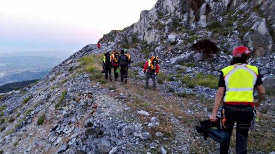 Escursionista trovato morto sulle Apuane