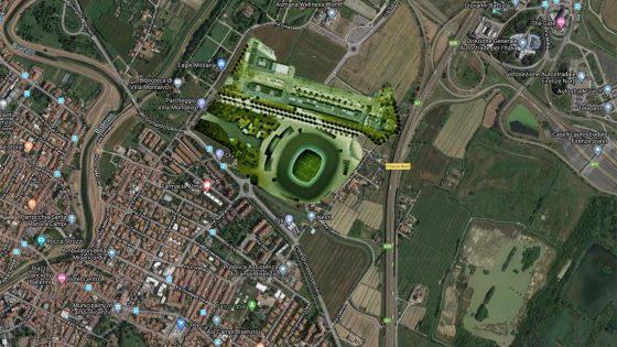 Legambiente contro la costruzione di un nuovo stadio a Campi