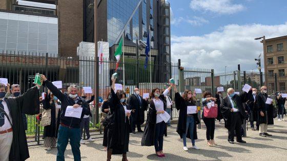 'Toghe Fiorentine 2.0' organizzano un Flash mob di avvocati