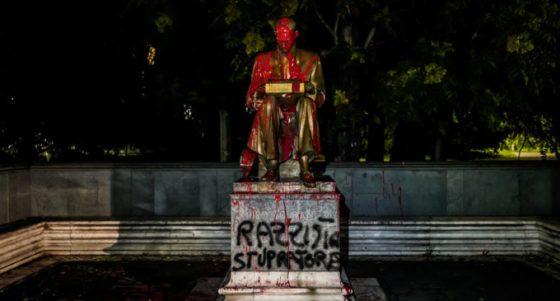 """""""Il tema non sono le statue da buttare giù ma il nostro racconto della storia"""""""