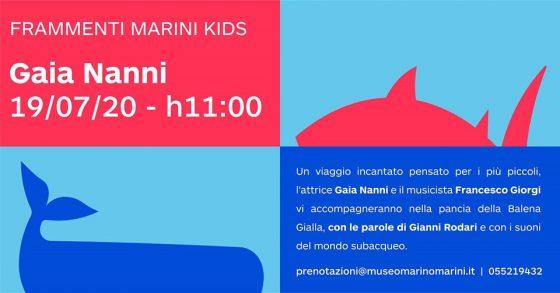 Al Marini di Firenze parte domenica Frammenti Kids