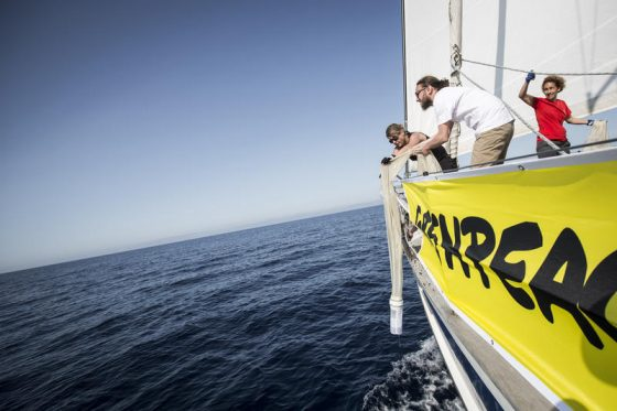 Greenpeace, picchi contaminazione microplastiche nel Tirreno