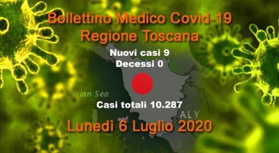 Coronavirus in Toscana: 2 nuovi casi, 0 decessi