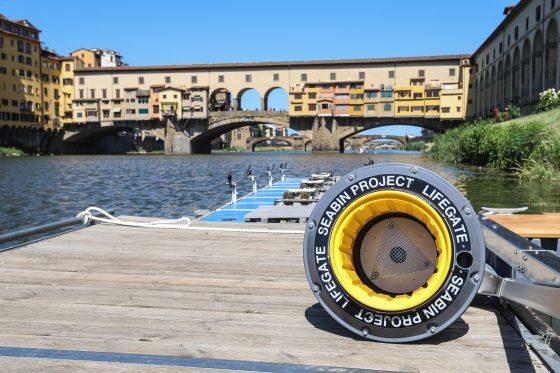 Sull'Arno arriva Seabin, il cestino che pulisce l'acqua dalla plastica