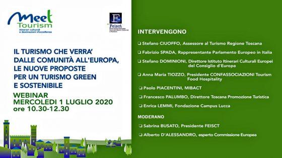 'Il turismo che verrà', webinair dell Regione Toscana