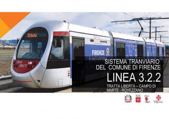 Approvata la linea 3.2.2 della tramvia da p.zza Libertà a Rovezzano