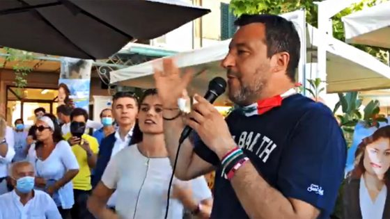 Salvini in agosto sarà in vacanza a Forte dei Marmi