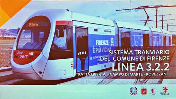 "Nardella presenta la Tramvia linea 3.2.2, ""Sarà linea stadio"""