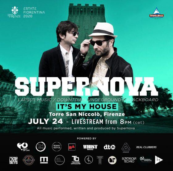 """It's My House"" streaming della performance dei Supernova"
