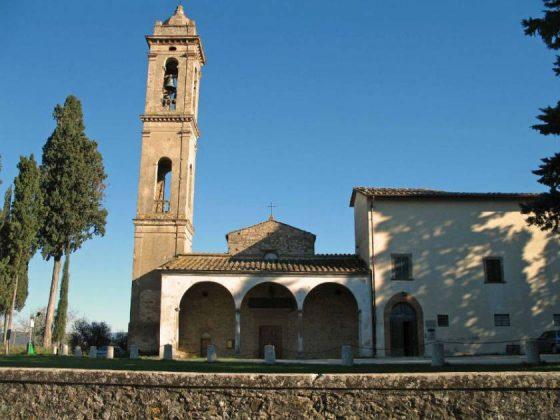 Barberino-Tavarnelle: un Castello sotto la Pieve di San Pietro in Bossolo?