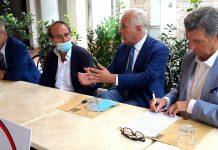 Nencini e Giani alla presentazione della lista 'Orgoglio Toscana'