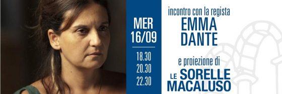 Emma Dante ospite del cinema Arsenale di Pisa