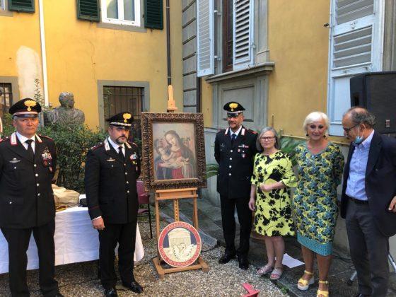 Restituito al museo Siviero dipinto rubato negli anni '90