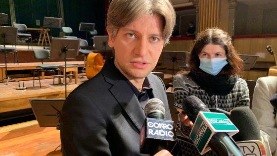 Daniele Rustioni è il nuovo direttore artistico dell'Orchestra della Toscana