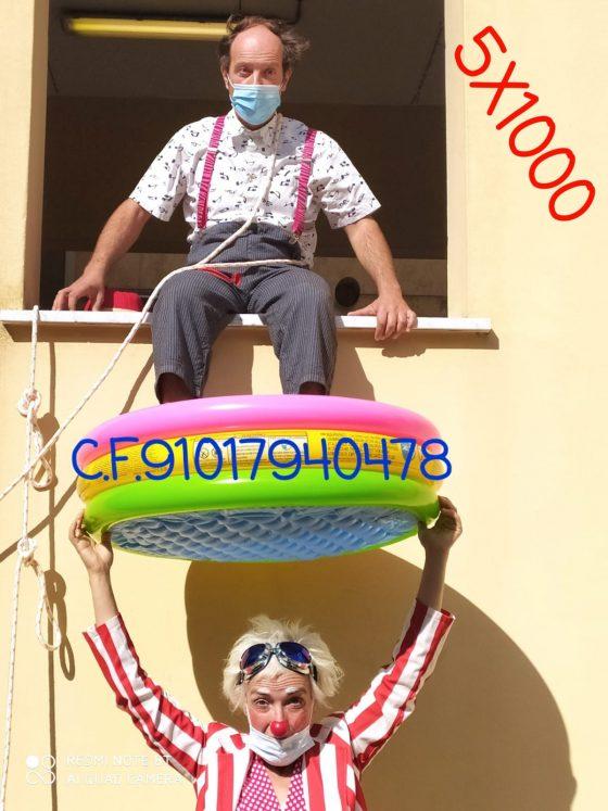 Covid: clowndottori di Pisa lanciano petizione per tornare in corsia