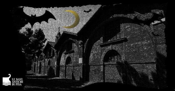 Ad Halloween la visita per ragazzi al Museo delle Navi Antiche di Pisa