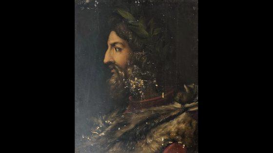 Ritratto di Romolo ritrovato nella soffitta di Palazzo Pitti