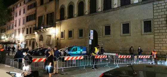 Piazza Santo Spirito, Nardella: contingentamento ha funzionato