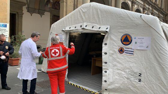 Coronavirus in Toscana: 2.361 nuovi casi, età media 49 anni, 52 decessi