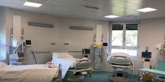 Apre il Covid Center di Careggi: 72 posti letto, 14 di terapia intensiva e 58 ordinari