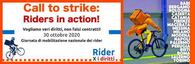"""Ciclofattorini: """"Basta cottimo, vogliamo diritti"""", sciopero delle consegne e manifestazione a Firenze"""