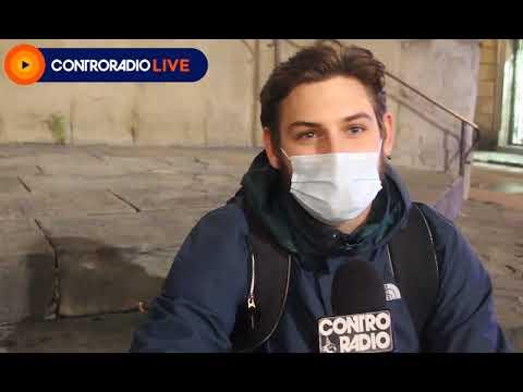 Misure anti Covid e piazza svuotate a Firenze