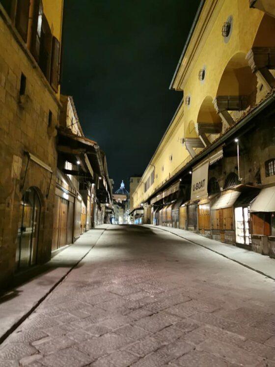 Toscana 'rossa', primo giorno strade vuote