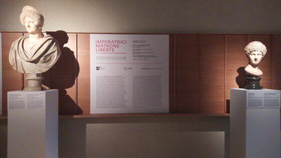 """""""Imperatrici, matrone, liberte. Volti e segreti delle donne romane"""" agli Uffizi"""