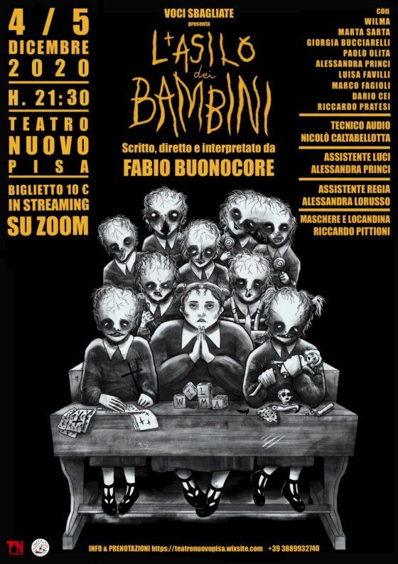 """Teatro Nuovo di Pisa: debutto in prima nazionale del collettivo """"Voci Sbagliate"""""""