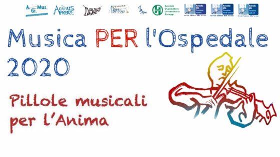 AGiMus, 'Pillole Musicali per l'Anima' in ospedale in tempi Covid