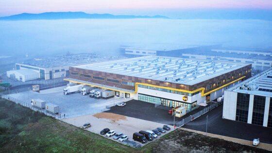 UPS inaugura nuovo centro logistico in Toscana