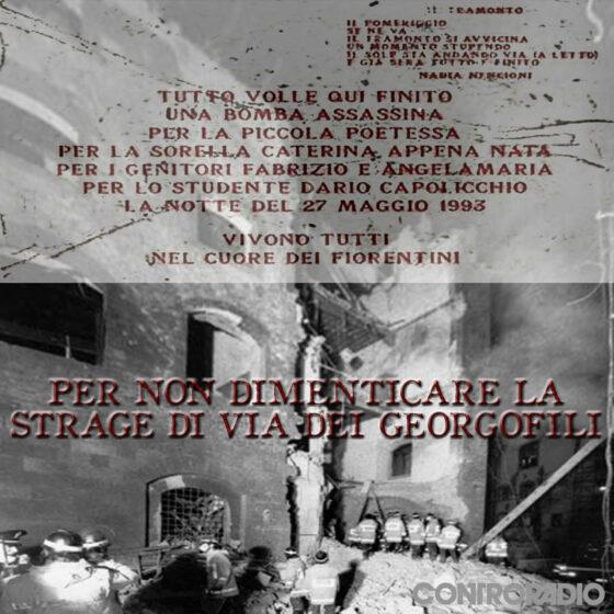 Strage dei Georgofili: commemorazione a numero chiuso, presenti Ermini e Cafiero De Raho