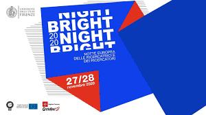 La ricerca si presenta online con la BRIGHT-NIGHT 2020