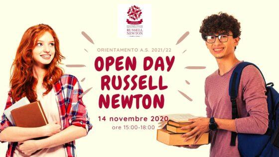 Online i webinar dedicati all'orientamento 2021/22 dell'Istituto Russell-Newton di Scandicci