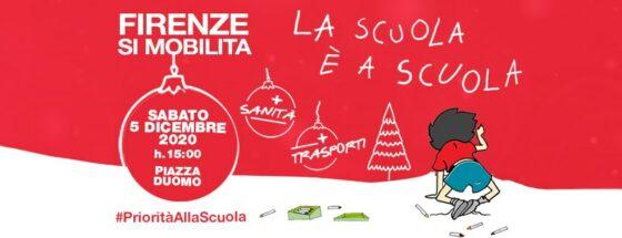 Per la scuola a scuola, 8 mesi di mobilitazione e domani si torna in piazza anche a Firenze
