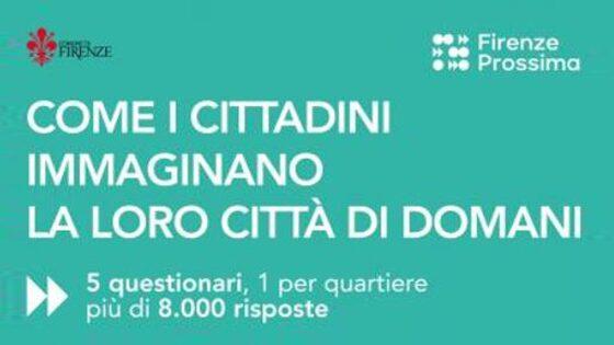 'Firenze prossima', i risultati della campagna d'ascolto