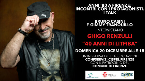 Anni '80 a Firenze, intervista a Ghigo Renzulli