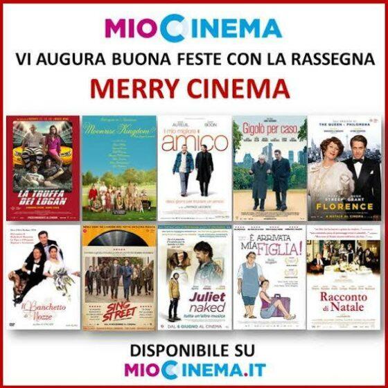 Merry Cinema, sulla piattaforma web MioCinema le grandi commedia d'autore