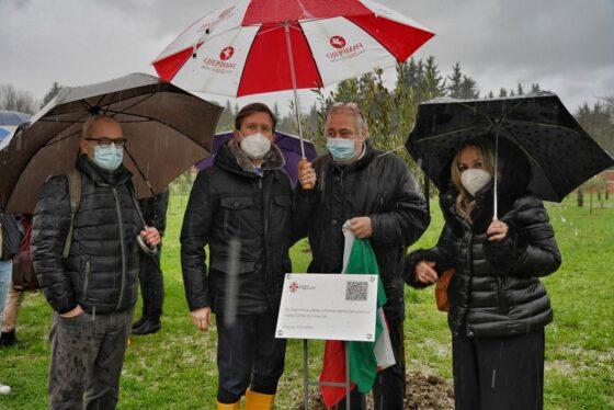 Firenze dedica un bosco alle vittime di Covid