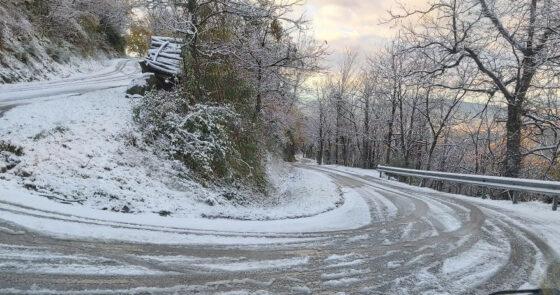 Maltempo: Toscana, codice arancione per nevicate su nord ovest