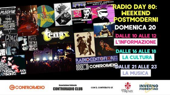 'Radio Day': gli Anni '80 Su Controradio